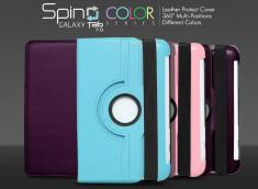 "Etui Samsung Galaxy Tab 7"" P6200 Spin Color"