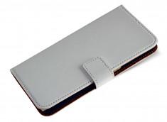 Etui HTC Desire 820 Leather Wallet-Blanc