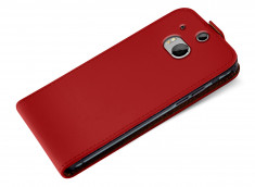 Etui HTC One M8 Business Class-Rouge