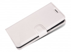 Etui Wiko U Feel White Leather