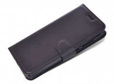 Etui Wiko U Feel Lite Black Leather