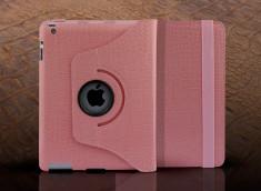 Etui iPad Pro 9.7 Spin Croco Gloss-Rose
