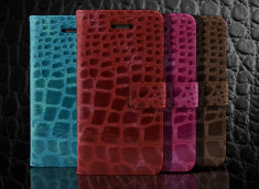 Etui iPhone 5C Croco Gloss