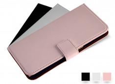 Etui iPhone 5/5S Porte-Carte Leather Wallet Color