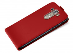 Etui LG G3 Business Class-Rouge