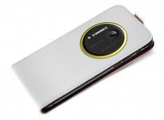 Etui Nokia 1020 Business Class-Blanc