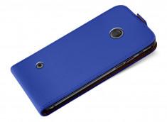 Etui Nokia Lumia 530 Business Class-Bleu