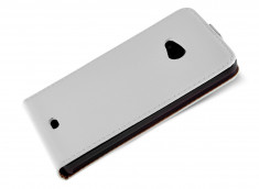 Etui Microsoft Lumia 535 Business Class-Blanc