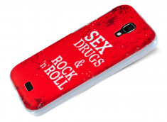 Coque Wiko Bloom Sex, Drugs and Rock n Roll