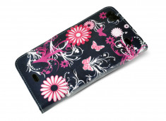 Etui Wiko Darkside Black Garden