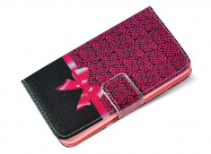Etui Wiko Highway Signs Pink Leopard