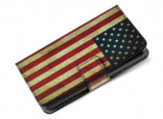 Etui iPhone 7 Plus Vintage USA