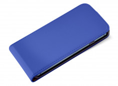 Etui iPhone 5C Business Class-Bleu