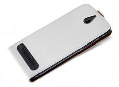 Etui Sony Xperia E1 Business Class-Blanc