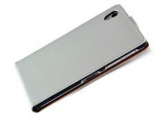 Etui Sony Xperia Z1 Business Class-Blanc