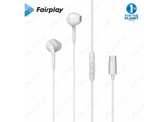 FAIRPLAY ONYX Ecouteurs USB-C (Blancs) (Bulk)