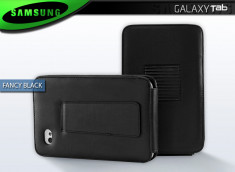"Etui Galaxy Tab P1000 ""Fancy Black"""