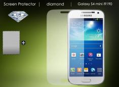 KIT avec 1 film protecteur effet Diamant  + 1 chiffon - Samsung Galaxy S4 mini