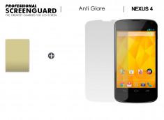 Film Protecteur LG Nexus 4 Anti-Reflet