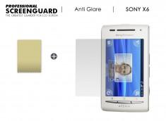 KIT avec 1 film protecteur anti-reflet + 1 chiffon Sony Xperia 6