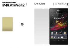 Film Protecteur Sony Xperia Z Anti-Reflet