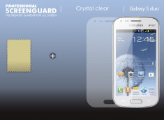 Kit 1 film protecteur + 1 chiffon Samsung Galaxy Trend/S Duos