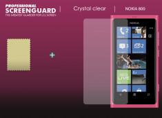 KIT avec 1 film protecteur + 1 chiffon Nokia Lumia 800