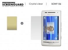KIT avec 1 film protecteur + 1 chiffon Sony Xperia 6