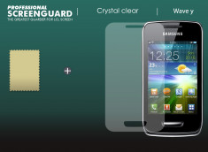 Kit 1 film protecteur + 1 chiffon Samsung Wave Y