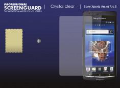 KIT avec 1 film protecteur + 1 chiffon Sony Xperia Arc S/Arc (X12)