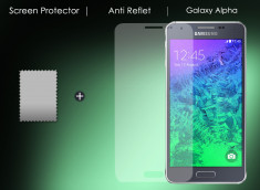 Film protecteur Samsung Galaxy Alpha Anti-Reflet