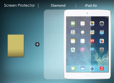 KIT 1 film protecteur Diamant + chiffon iPad Air