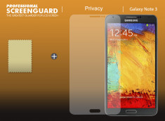 KIT avec 1 film protecteur effet Privacy + 1 chiffon - Samsung Galaxy Note 3