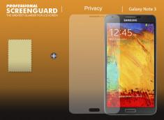 KIT avec 1 film protecteur effet Privacy + 1 chiffon - Samsung Galaxy Note 3