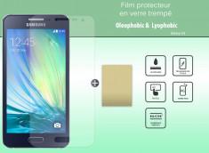 Film protecteur Samsung Galaxy A3 en verre trempé