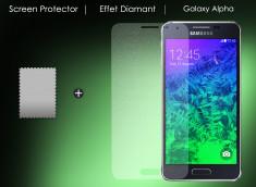 Film protecteur Samsung Galaxy Alpha Diamant
