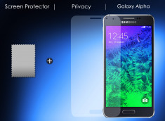 Film protecteur Samsung Galaxy Alpha Privacy