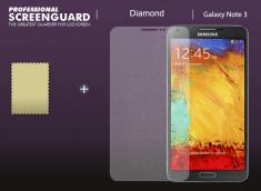 KIT avec 1 film protecteur effet Diamant   + 1 chiffon - Samsung Galaxy Note 3