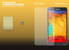 KIT avec 1 film protecteur Anti Reflet  + 1 chiffon - Samsung Galaxy Note 3