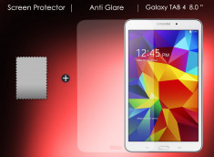 "Film Protecteur Samsung Galaxy Tab 4  8"" Anti-Reflet"