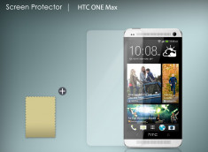 KIT avec 1 film protecteur + 1 chiffon HTC One Max