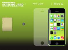 Kit 1 film protecteur AVANT Anti-Reflet ScreenGuard pour iPhone 5C