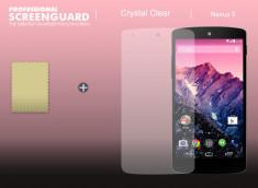 KIT avec 1 film protecteur + 1 chiffon LG Nexus 5
