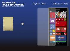 KIT avec 1 film protecteur + 1 chiffon Nokia Lumia 1520