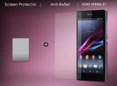KIT avec 1 film protecteur Anti Reflet + 1 chiffon Sony Xperia Z1