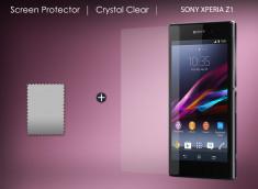 KIT avec 1 film protecteur + 1 chiffon Sony Xperia Z1
