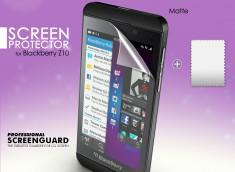 KIT avec 1 film protecteur anti-reflet + 1 chiffon Blackberry Z10