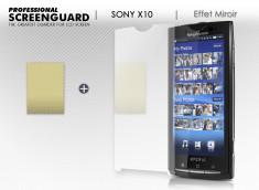Film protecteur Sony Xperia X10 Miroir