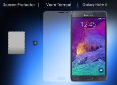 Film Protecteur Samsung Galaxy Note 4 en Verre trempé