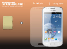 Kit 1 film protecteur anti-reflet + 1 chiffon Samsung Galaxy Trend/S Duos